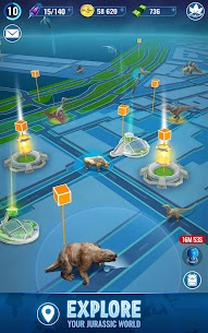 Jurassic World Alive MOD APK (Unlimited Battery, VIP Enabled) for Android 5