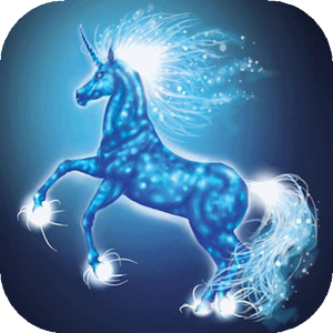 Sparkling unicorn live wp apk