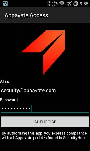 Appavate Access