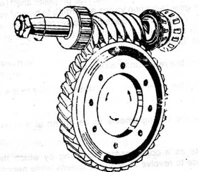 Worm Shaft and Worm Wheel