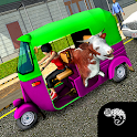 Tuk Tuk Patrol: 3D City Rickshaw Drive icon