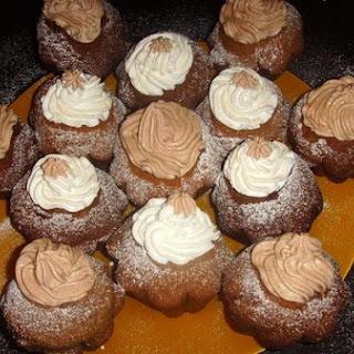 Chocolate-Mascarpone Mousse Cupcakes.