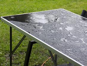 Photo: trochu padala voda