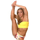 Standing Splits in Yoga