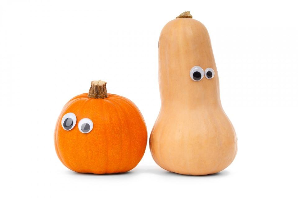 pumpkin white cute diet eye ...
