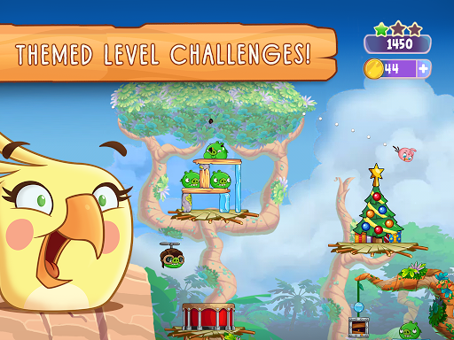 Angry Birds Slingshot Stella screenshot 18