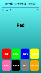 Puzzle Game - Text Color Click - náhled