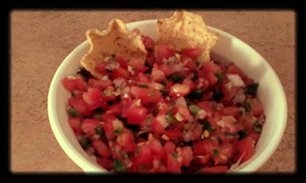 Our Favorite Tomato Salsa!