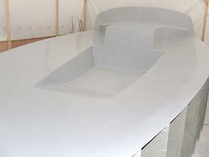 Photo: le mannequin de pont terminé... 10.12.2008