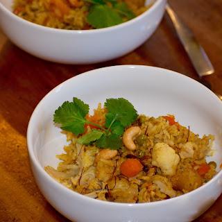 Vegetable Brown Rice Pilaf Recipe