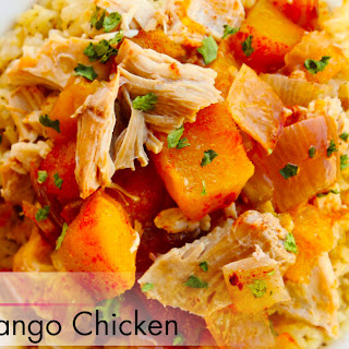 Slow Cooker Chipotle Mango Chicken.