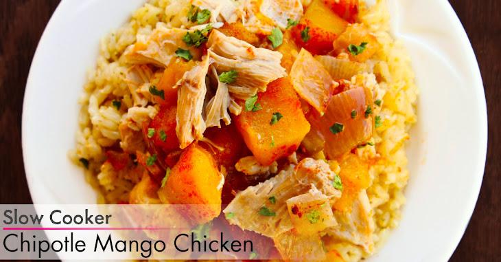 Slow Cooker Chipotle Mango Chicken