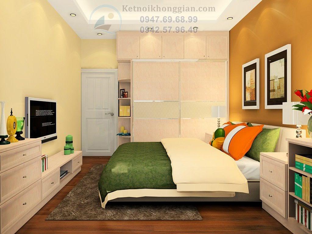 thiết kế nội thất phòng ngủ khoa học