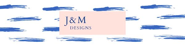 J & M Designs - Etsy Shop Big Banner Template