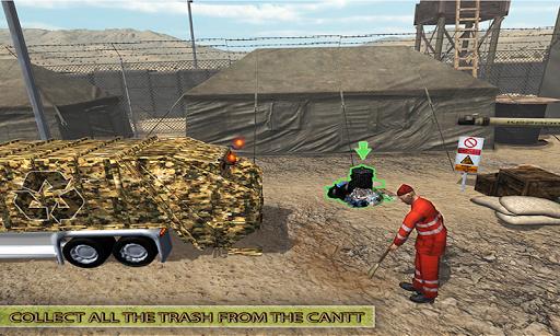 Army Garbage Truck Simulator 2018 3.0 screenshots 4