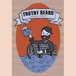 Logo of Frothy Beard Caught Yellow Handed