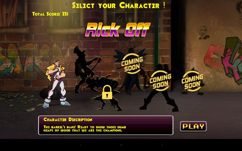 Скриншот Super Barrel Fighters