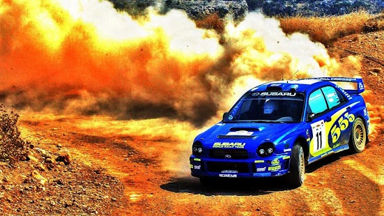 Subaru Rally Car Wallpaper - náhled