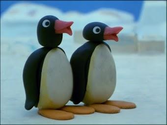 Pingu's Tobogganing