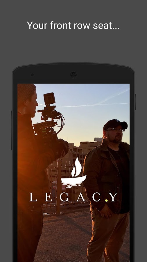 Legacy- screenshot