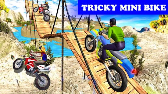 Tricky Mini Motorbike Racing : Trail Stunt Rider - náhled