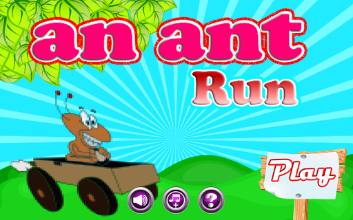 Ant Running Games