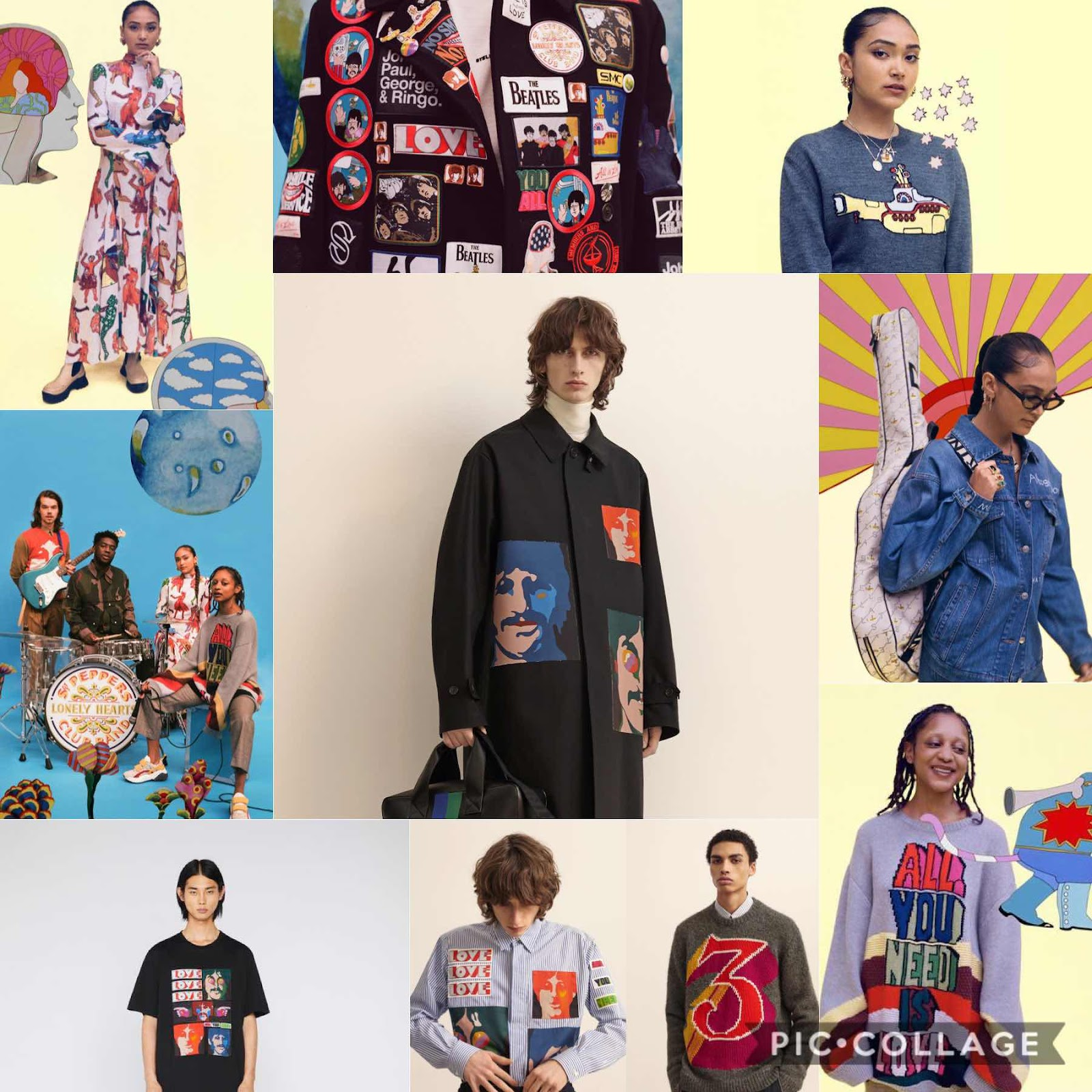 Stella McCartney X The Beatles : All Together Collection