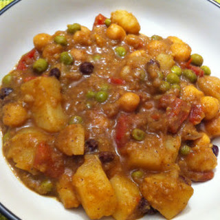 Vegan Potato Curry.