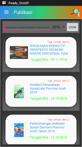 Aceh Mobile Statistic 1.0 screenshots 6