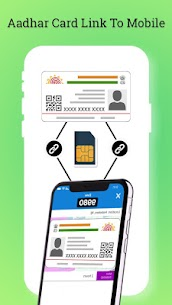 Aadhar Card Link To Mobile : Guide Loan of Aadhar Apk Download 1