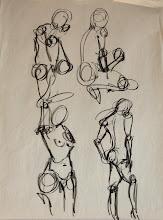 Photo: gesture drawing3 // ~10 seconds per gesture