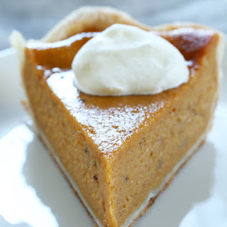Classic Gluten Free Pumpkin Pie (or Sweet Potato Pie)