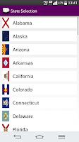 Screenshot of 2016 US Holiday Calendar NoAds