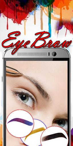 Eyebrow Shaping App - Beauty Makeup Photo 6.1 screenshots 13