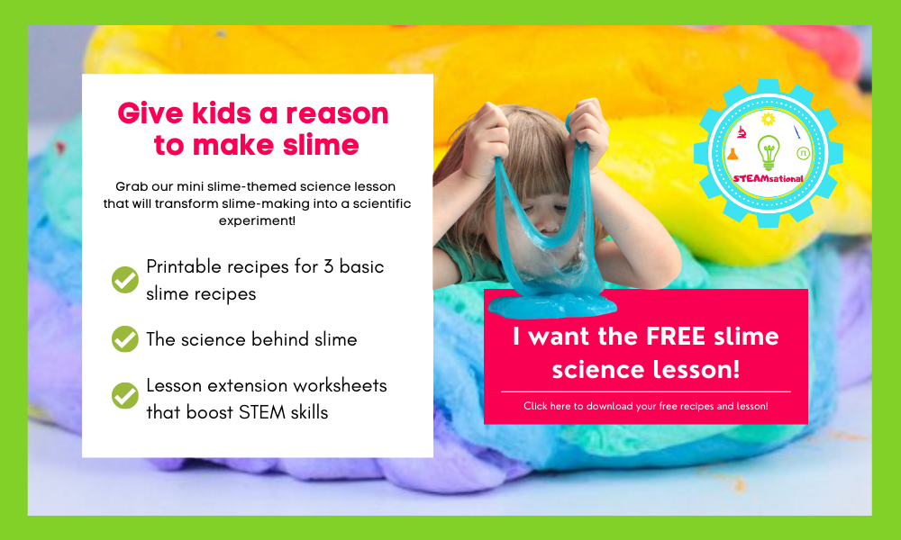 slime science lesson