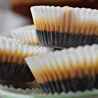 Dark Chocolate Peanut Butter Fat Bombs.