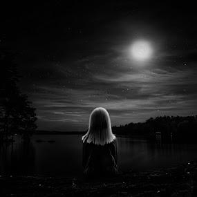 Moonlit Soul... by Andy Dyso - Babies & Children Child Portraits
