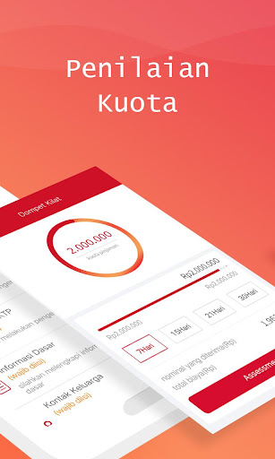 Dompet Kilat - Pinjaman Uang Online Tanpa Jaminan  screenshots 2