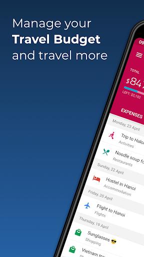 TravelSpend -  Track Travel Expenses & Trip Budget 1.8.10 screenshots 1