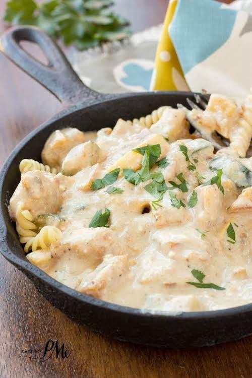 """Zucchini and Squash Ricotta Pasta Casserole Recipe""""Zucchini and Squash Ricotta Pasta Casserole..."""
