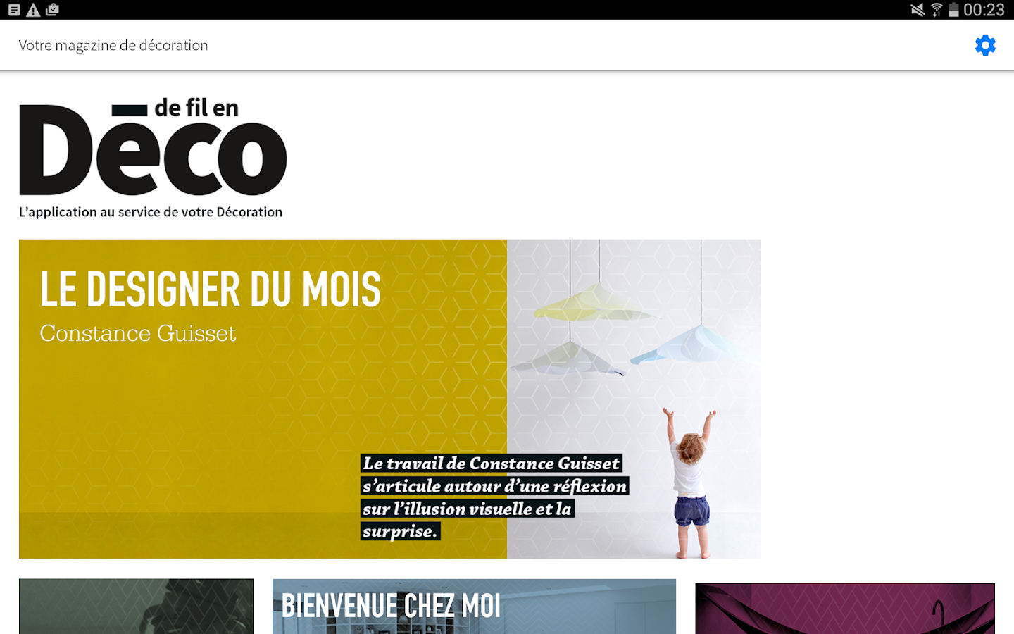 De fil en Déco- screenshot