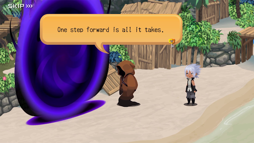 KINGDOM HEARTS Uχ Dark Road screenshot 17