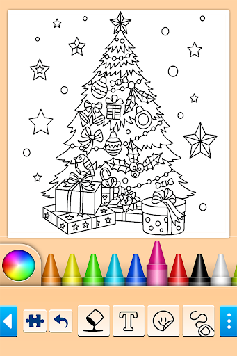 Christmas Coloring 10.4.4 screenshots 4
