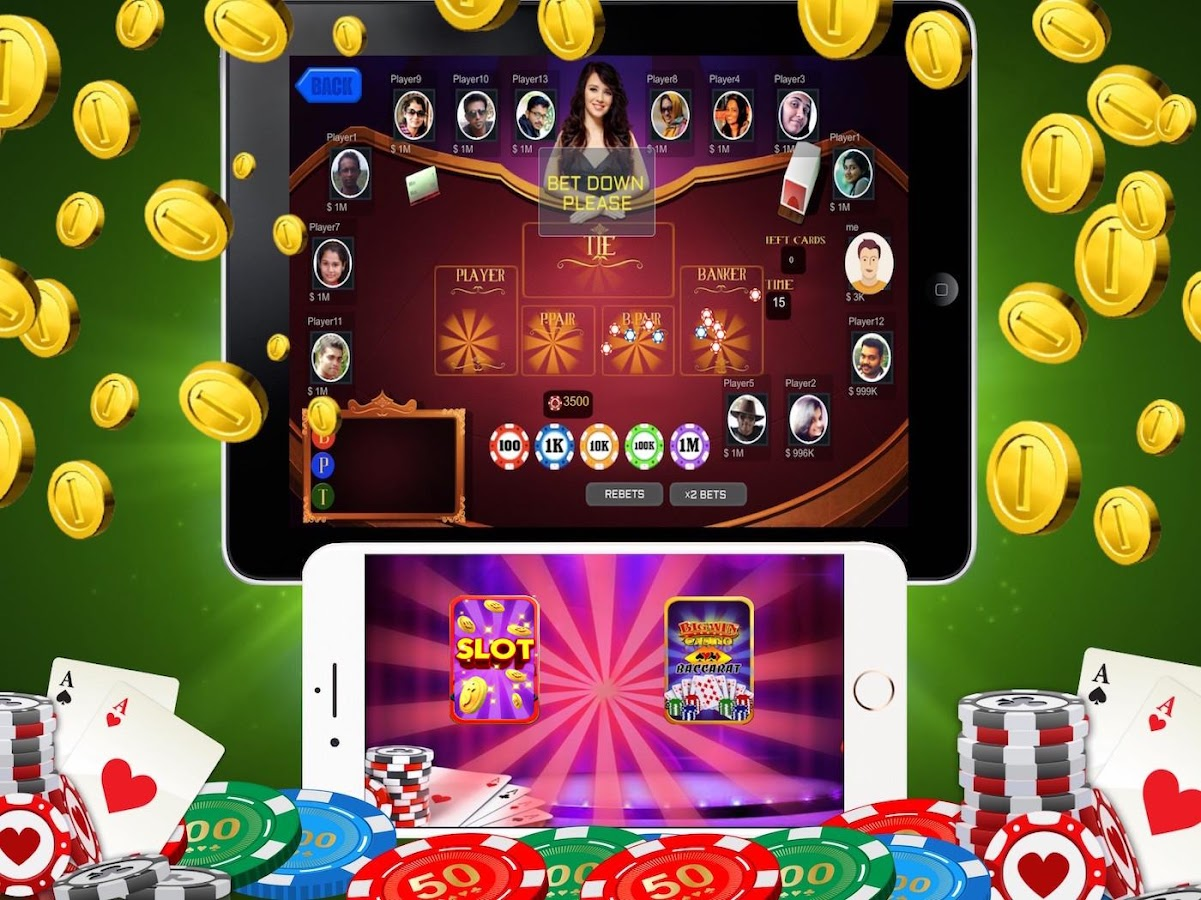 Mega Jackpot Slot & Baccarat- screenshot