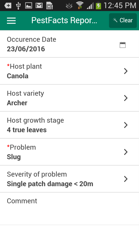 PestFacts- screenshot