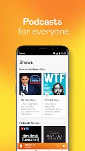 Deezer Music Player Mod Apk : Songs, Playlists & Podcasts 6