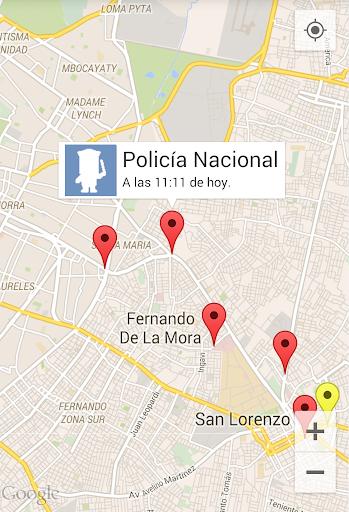 PoliceMap ControlApp Cops