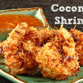Gluten, Egg & Dairy Free Coconut Shrimp.