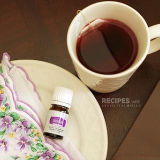 Lavender Chamomile Relaxing Bedtime Tea.