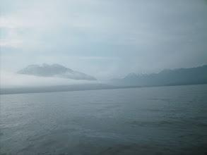 Photo: Mount Burnett from across Union Bay.